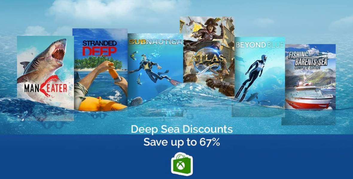 Xbox Store Deep Sea Discount