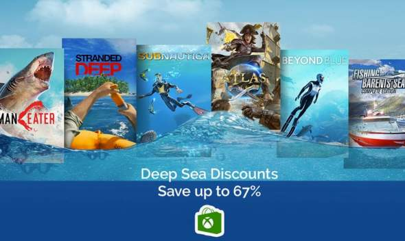Xbox Store Deep Sea Discount
