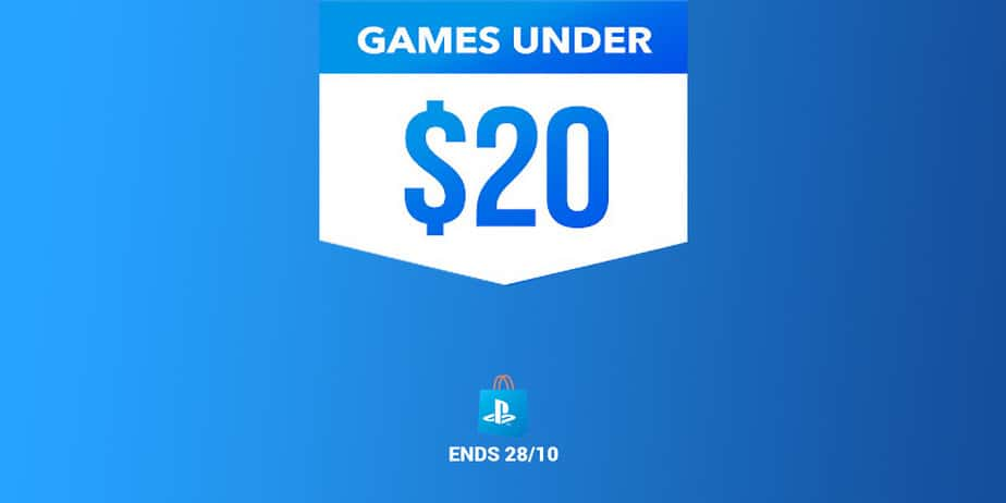 PlayStation Store Games Under 20 Sale | Ends Oct. 28