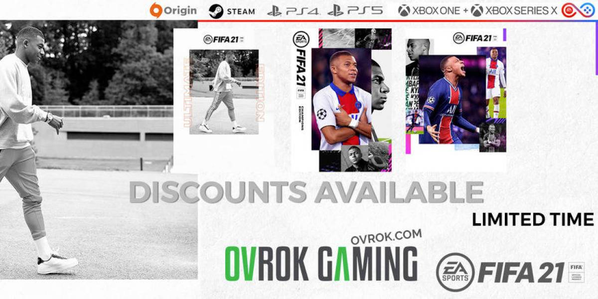FIFA 21 OFFERS BY OVROK GAMING