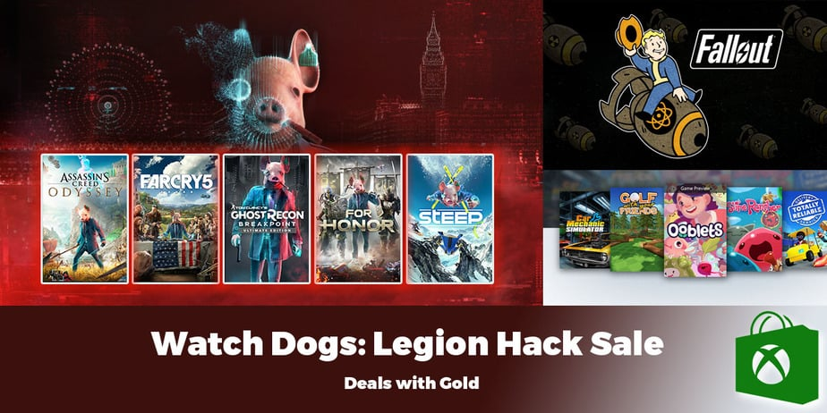 Xbox Weekly Deals: Deals with Gold and Legion Hack Sale