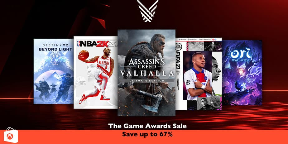 Xbox Store The Game Awards Sale