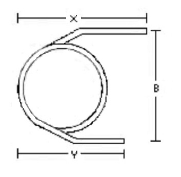 220-102 Empty Agilent Glass Column