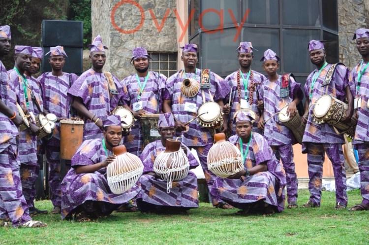 Yoruba Drummers