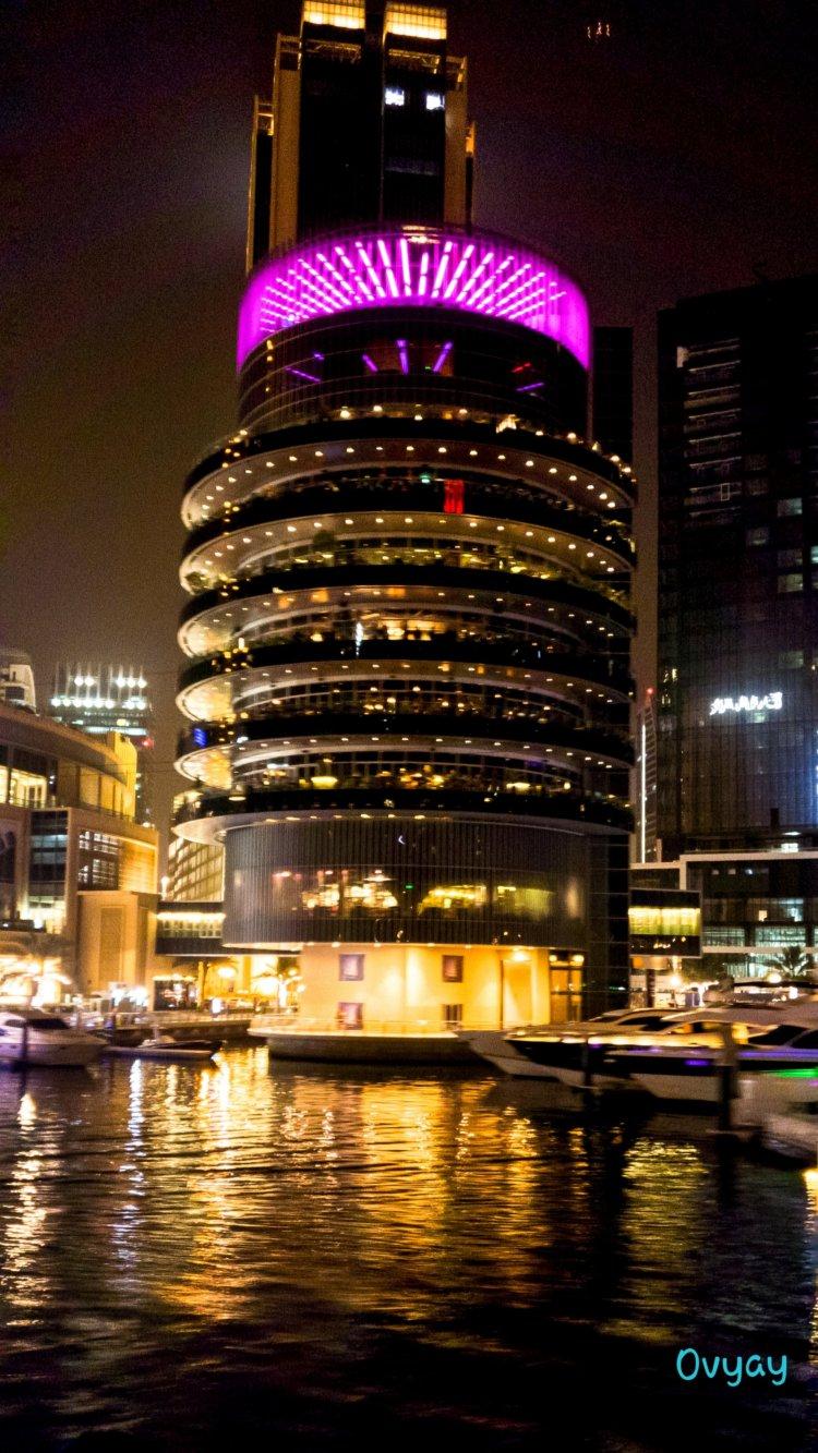 Cityscape of Dubai Marina
