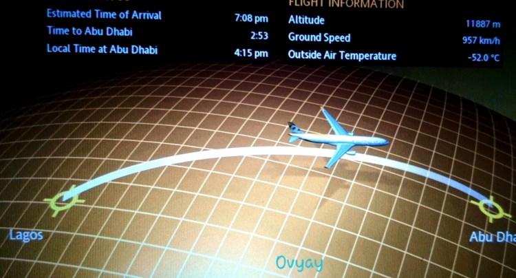 Lagos to Abu Dhabi