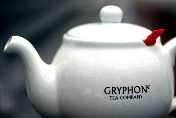 A Pot of tea from Gryphon Tea Company