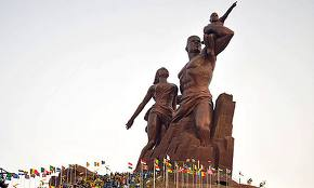 The African Renaissance Monument www.theguardian.com