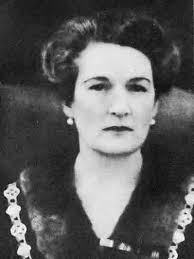 Glawdys Delamere, the first female mayor of Nairobi. [Image: The Telegraph]