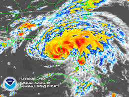 A Mega-Clusterfuck of a Hurricane David threatened to wipe out a nation. But one man had a radio. Image from Wikipedia