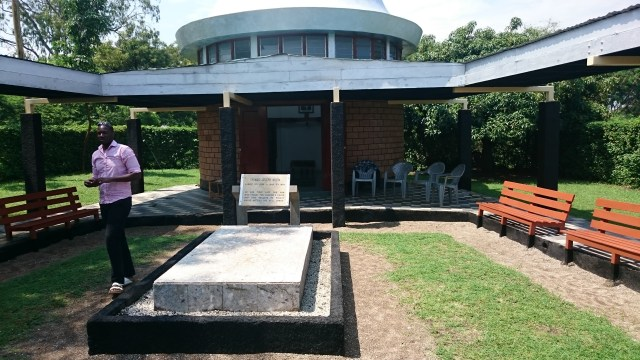 Visit the Tom Mboya Mausoleum while in Rusinga. Image from http://owaahh.com/the-rusinga-island-festival/
