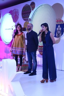 Urwa hosts, introducing Shamoon (khaddi) with Sadaf Kanwal