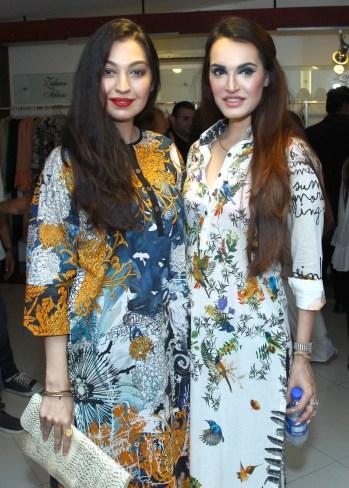 rabiya choudry with nadia hussain