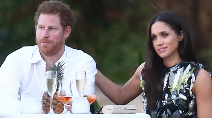 Meghan-Markle-and-Harry-dinner Day in the Life: Meghan Markle