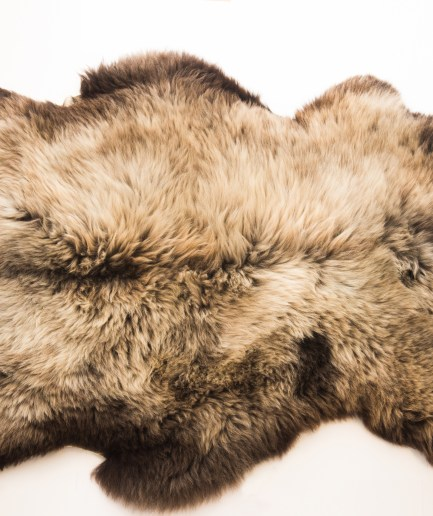 Natural Sheepskin Rug – 50 Shades of Grey
