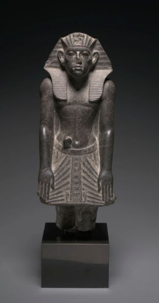 Statue of Amenemhat III, c. 1859–1814 C.C. Courtesy of the Cleveland Museum of Art.