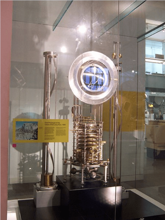 Clock of the Long Now from Wikimedia