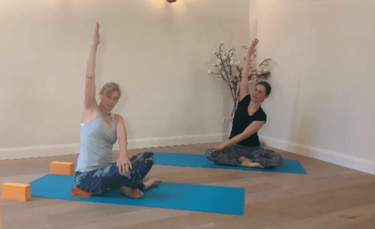Yoga zum Recken und Strecken