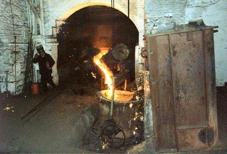Brymbo Steel Works Foundrys Last Pour