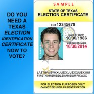 A Photo ID Is Now Required to Vote in Texas