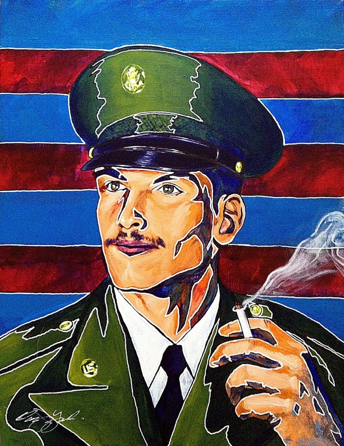 Owen York Art - An Unknown Soldier