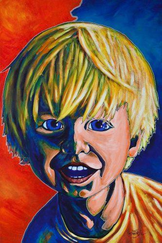 Portrait of Child -- Owen York Art