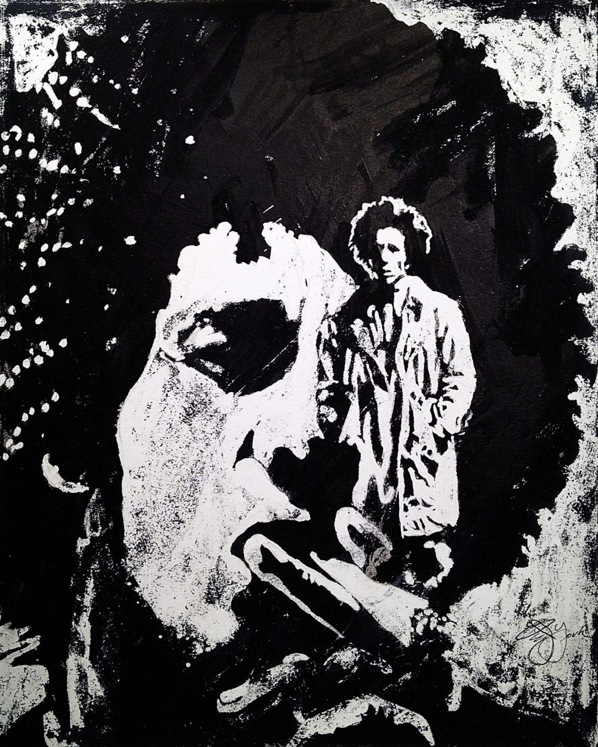 Owen York Art - Bob Marley