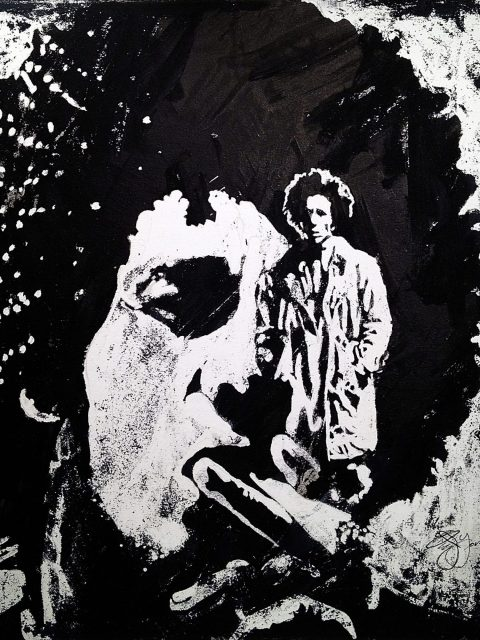 Owen York Art - Bob Marley