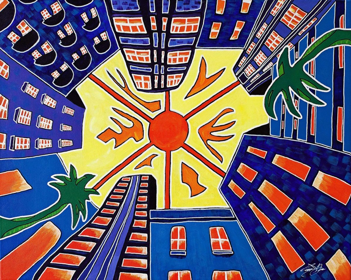 Owen York Art - Miami, 1969