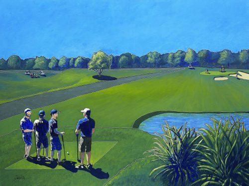 Golf Art -- Owen York Art