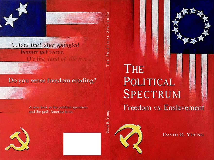 Owen York Art - The Political Spectrum: Freedom Vs. Enslavement