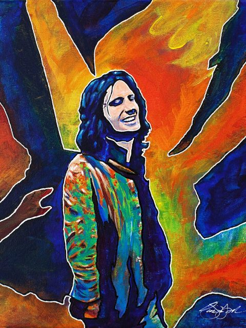 Owen York Art - The Real Jim Morrison