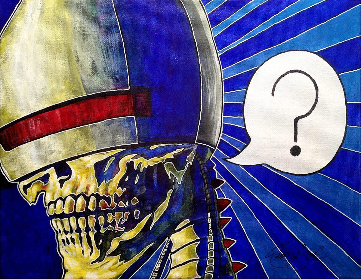 Owen York Art - The Reanimated's Surprise