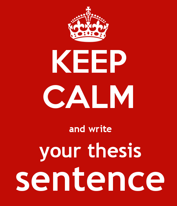 Parts Of A Thesis Sentence  Excelsior College Owl Parts Of A Thesis Sentence