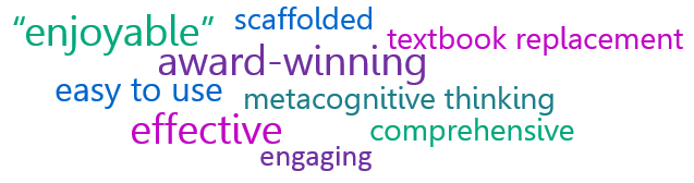 word cloud using words to describe the OWL