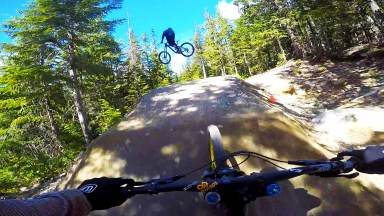 A-Line - Lower at Whistler bike park Canada
