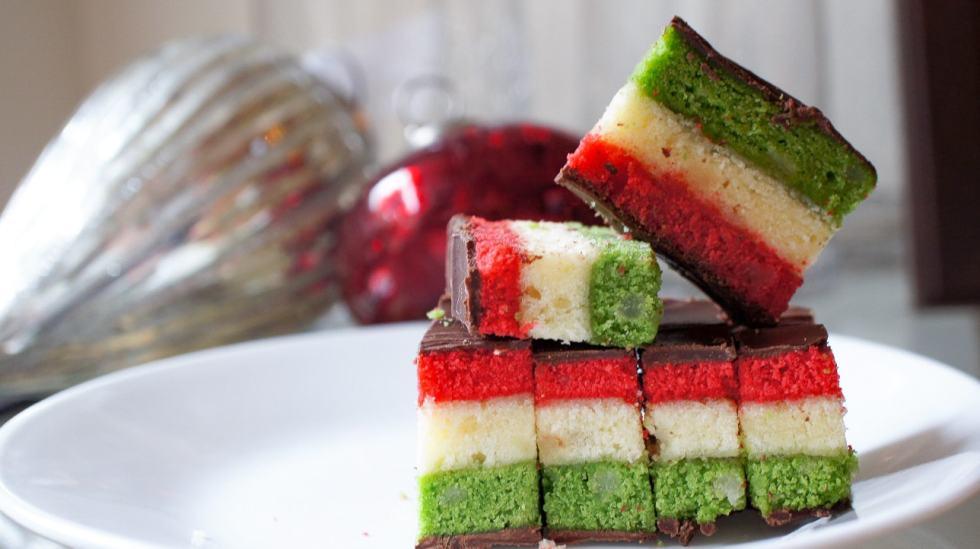 Tricolor Cookies