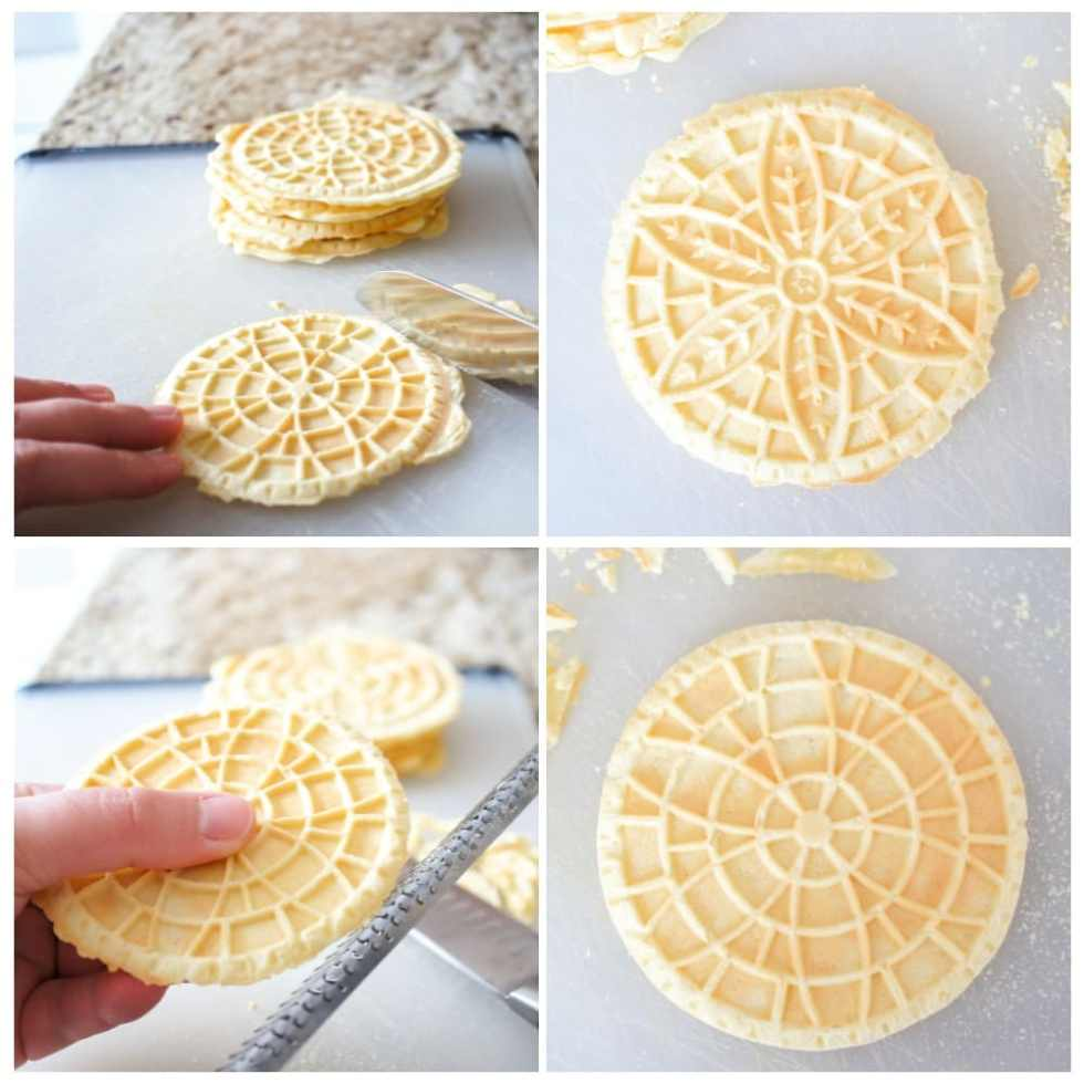 Perfect Pizzelle from pizzelle iron