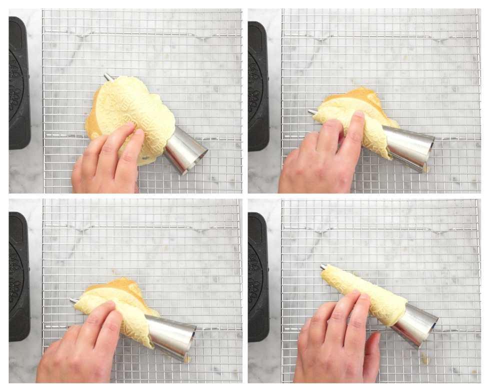 How to make krumkake