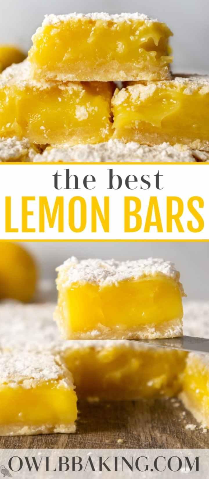 Ina Garten\'s Lemon Bars