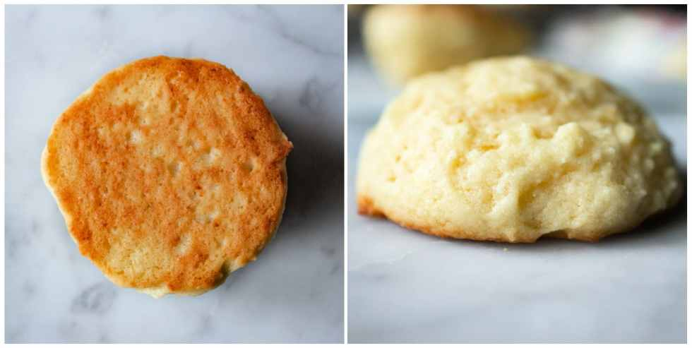how to tell when ricotta cookies are done baking