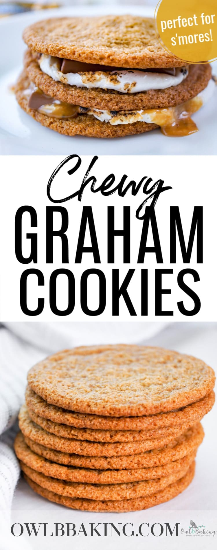 Chewy Graham Cookies