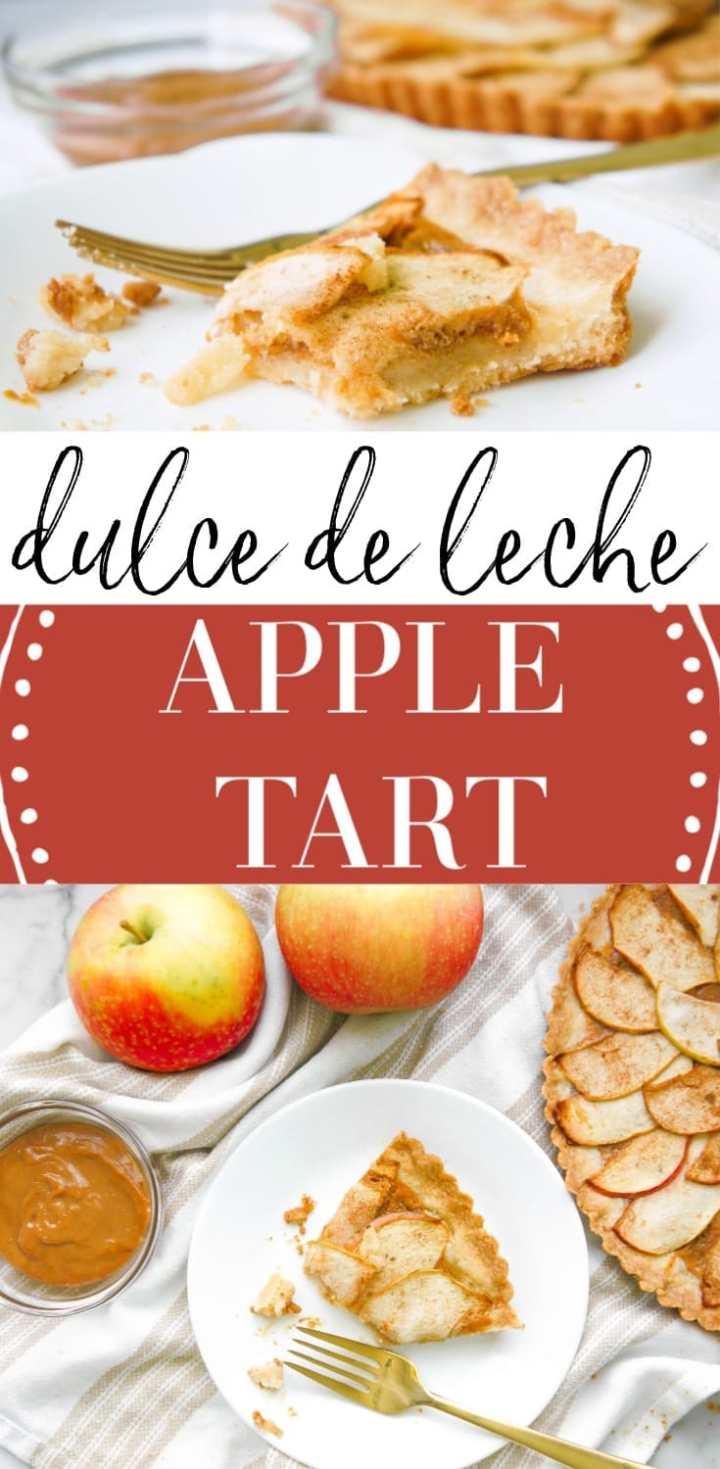 Dulce de Leche Apple Tart
