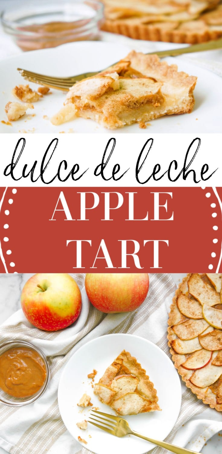 Dulce de Leche Apple Tart
