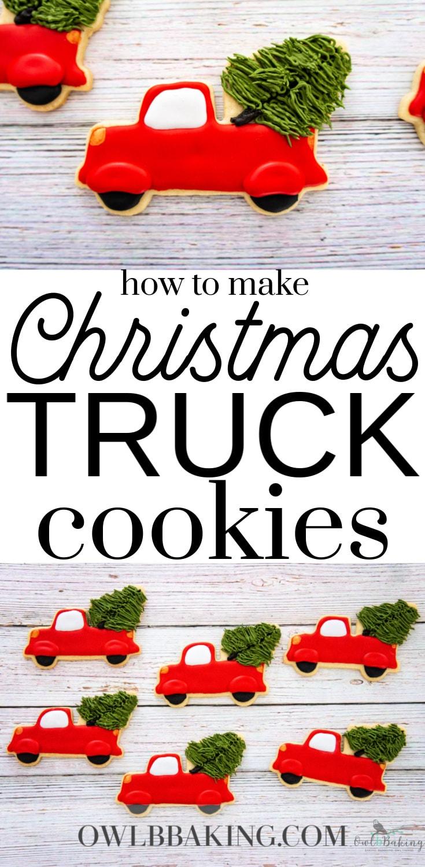 Christmas Truck Cookies