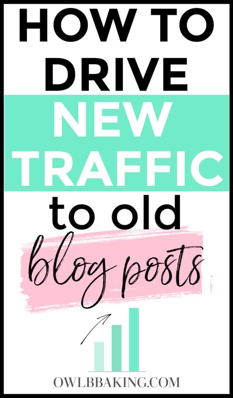 How to bring new traffic to an old blog post