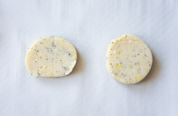 How to make perfect slice and bake cookies - Lemon Poppy Seed Slice and Bake Cookies