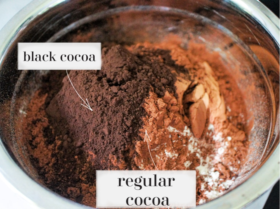 The difference between Black cocoa and regular cocoa