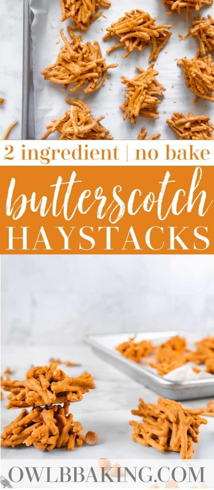 Butterscotch Haystacks