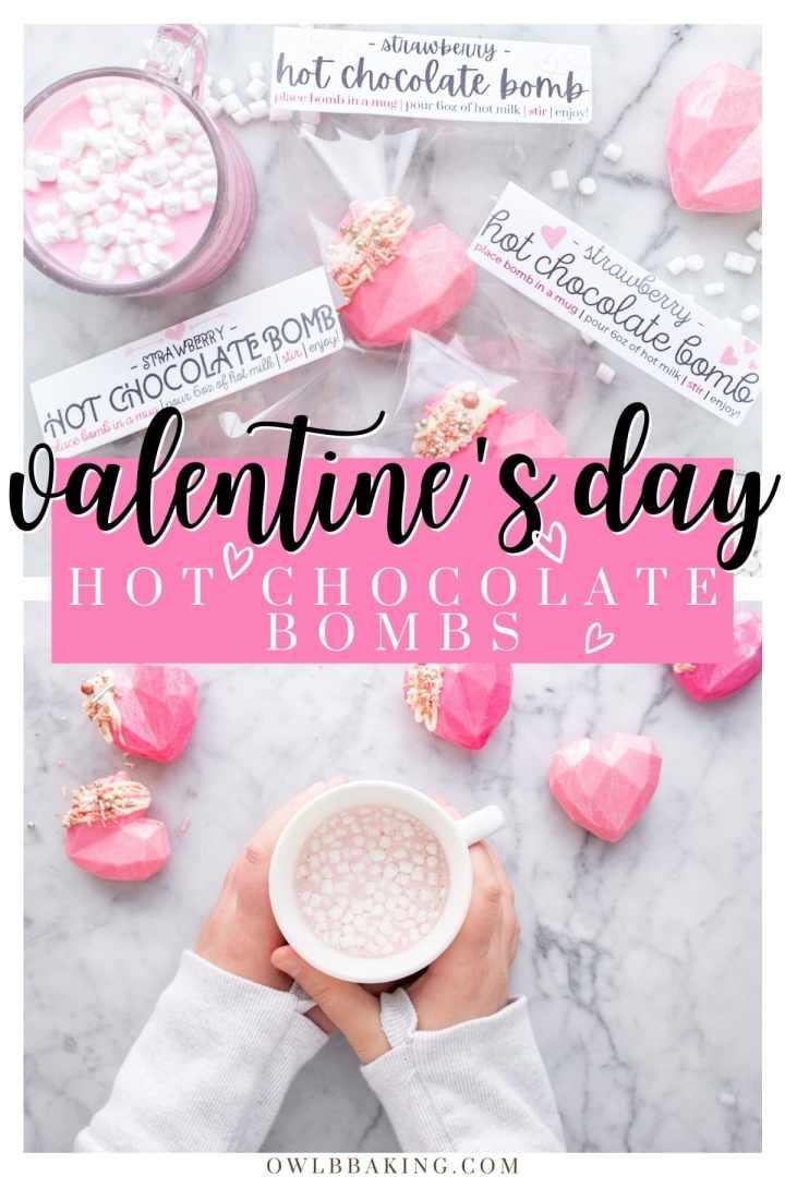 Valentine\'s Day Hot Chocolate Bombs